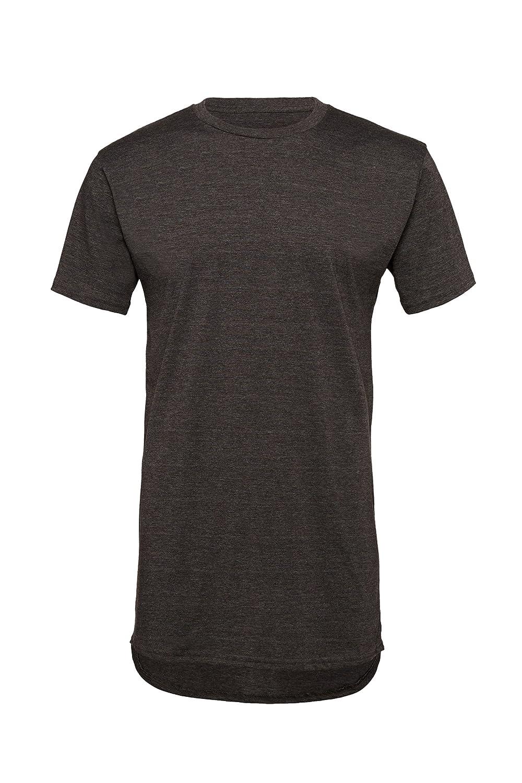 Plain black t shirt quality - Canvas Long Body Urban T Shirt
