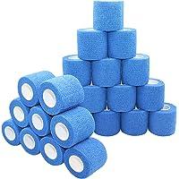 nilo zelfklevende bandages - 24 rollen 5cm x 4.5m zelfklevend elastisch ademend verband, voetverband, pootverband…