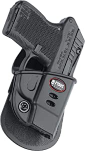 Fobus KT2G Evolution Holster for Kel-Tec P-32 2nd gen, P-3AT .380, Ruger LCP, Right Hand Paddle
