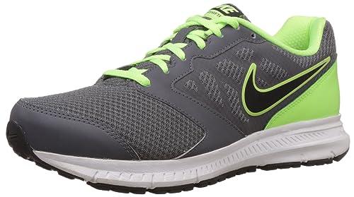 932ea459a5322 Nike Downshifter 6 MSL Mens Running Shoes, Dark Grey/Black - Ghst Grn-