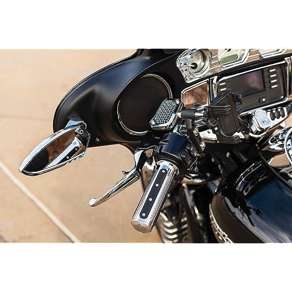 Kuryakyn 7039 Chrome Motorcycle Foot Controls