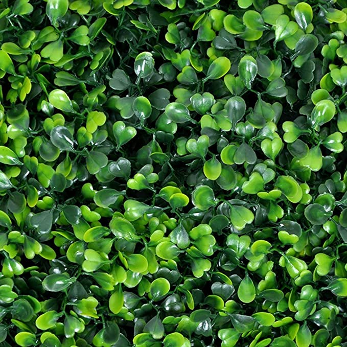 Gorgeoushome Artificial Hedge Plant Panels Privacy Screen Hedge Greenery Ivy Privacy Fence Screening For Both Outdoor Or Indoor Decoration 20 X 20 Milan 12pc Garden Outdoor