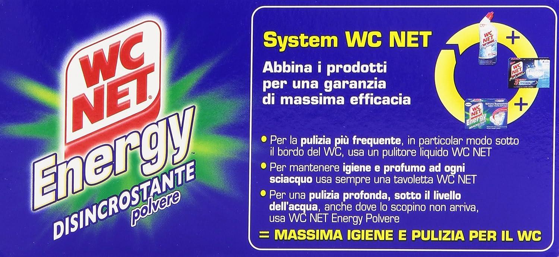 WC Net - Espuma superpulente, Energy, Desincrustante polvo - 3 paquetes de 4 piezas de 60 g [12 piezas, 720 g]: Amazon.es: Salud y cuidado personal