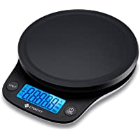 Etekcity 0.1g Food Kitchen Scale, Digital Weight Grams and Oz for Cooking, Baking, Meal Prep, and Diet, 11 Pounds, Black