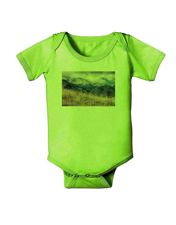TooLoud Pikes Peak CO Mountains Baby Romper Bodysuit