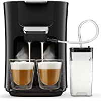 Philips Senseo Latte Duo HD6570/60 Kaffeepadmaschine, schwarz