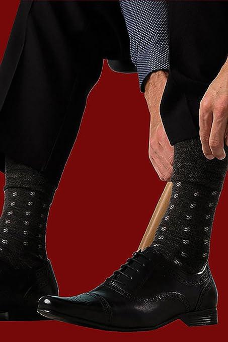 6 pares de mens Gentle Grip sin calcetines elásticos, 39-45 eur colores surtidos cuadrados (MGG19): Amazon.es: Ropa y accesorios