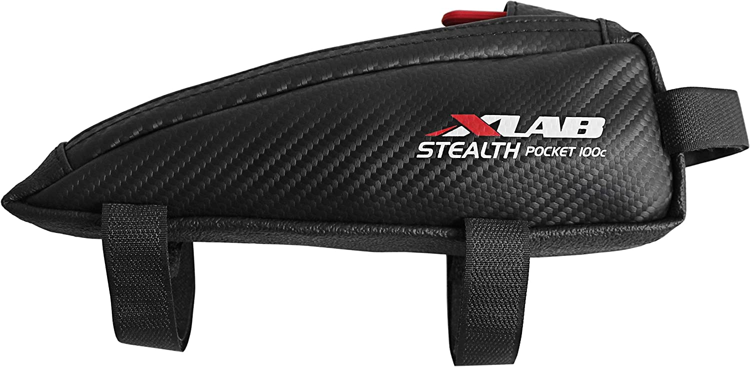 NEW X-Lab Stealth Pocket 100 Top Tube// Stem Bag Black
