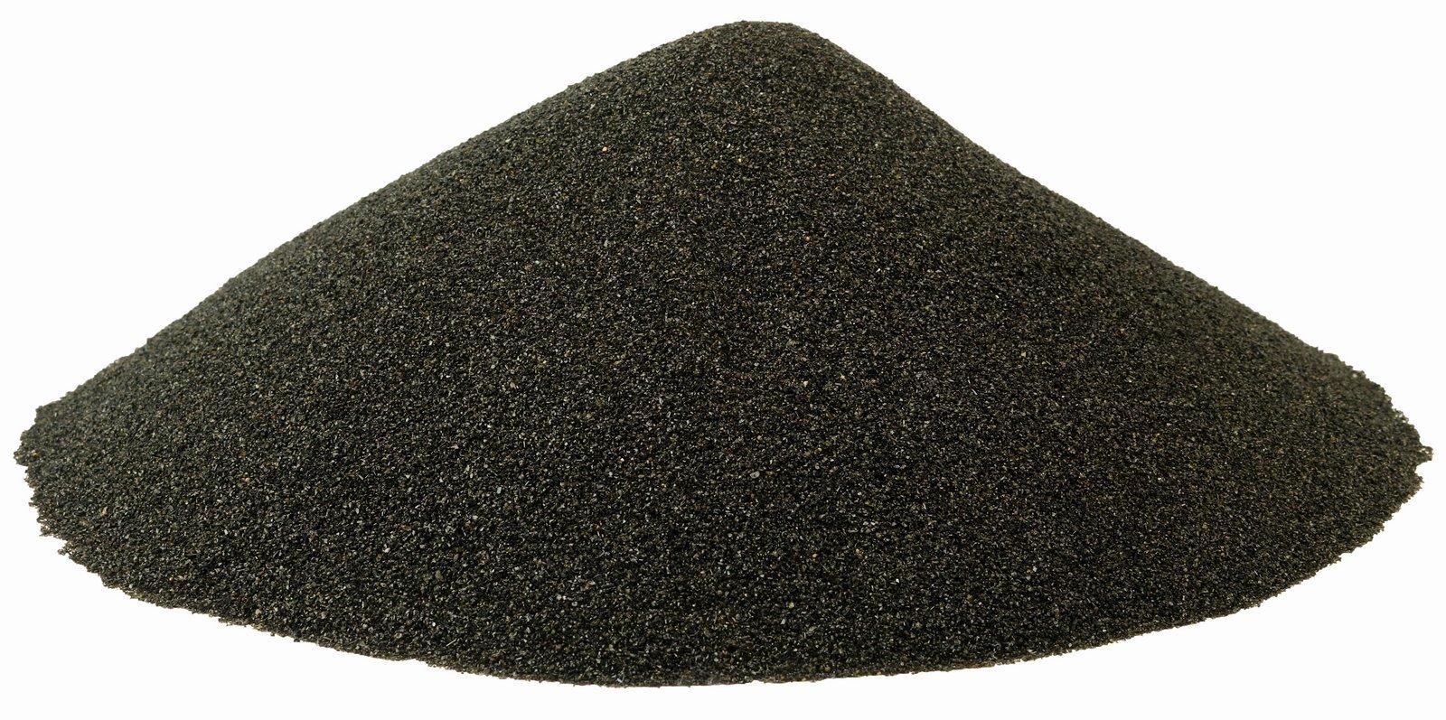 BLACK BEAUTY Abrasive Blast Media Fine Abrasive 20/40 Mesh Size for use in Sandblast Cabinet - 25 LBS by BLACK BEAUTY