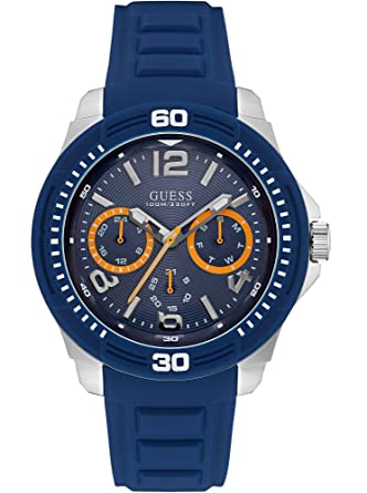 Guess Watches Mens Guess Mens Blue Watch