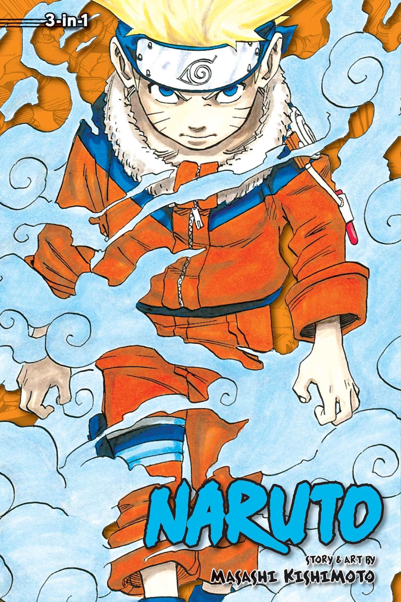 Amazon.com: Naruto (3-in-1 Edition), Vol. 2: Includes vols. 4, 5 ...