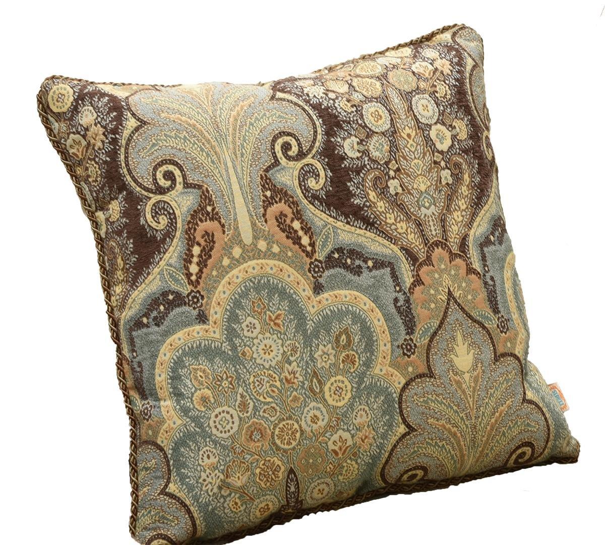 Dgreen Cushion Cover Sideli Luxury Chenille Jacquard Sofa Slipcover Anti-Slip Sectional Furniture Predector Petproof(35 x82 -Oversized Sofa, Beige)