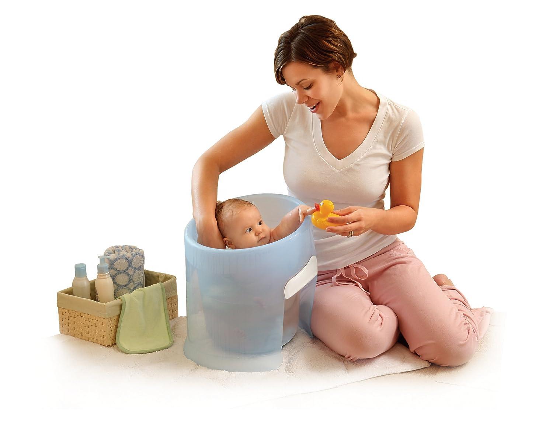 Amazon.com : Prince Lionheart washPOD, Poppy Pink : Baby Bathing ...