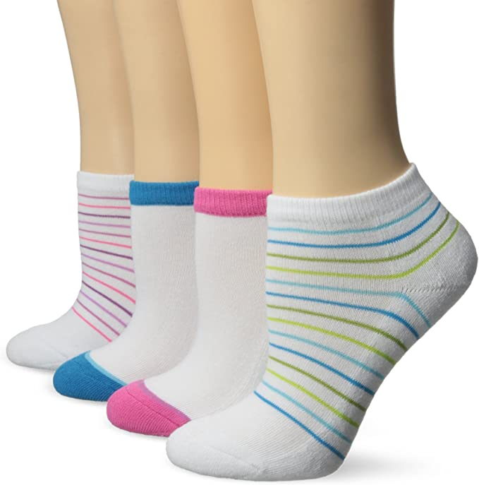 Hanes Ultimate Girls 5-Pack Ankle EZ Sort Socks
