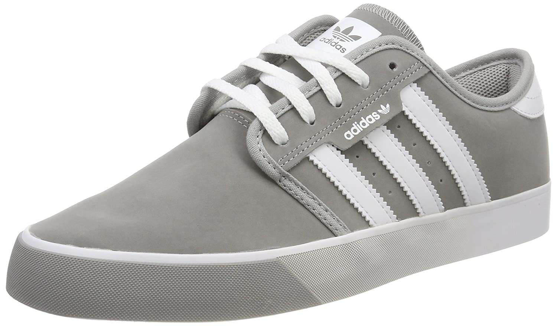 Adidas Seeley, Zapatillas de Skateboarding para Hombre 43 1/3 EU Gris (Grpumg / Ftwbla / Gum4 000)