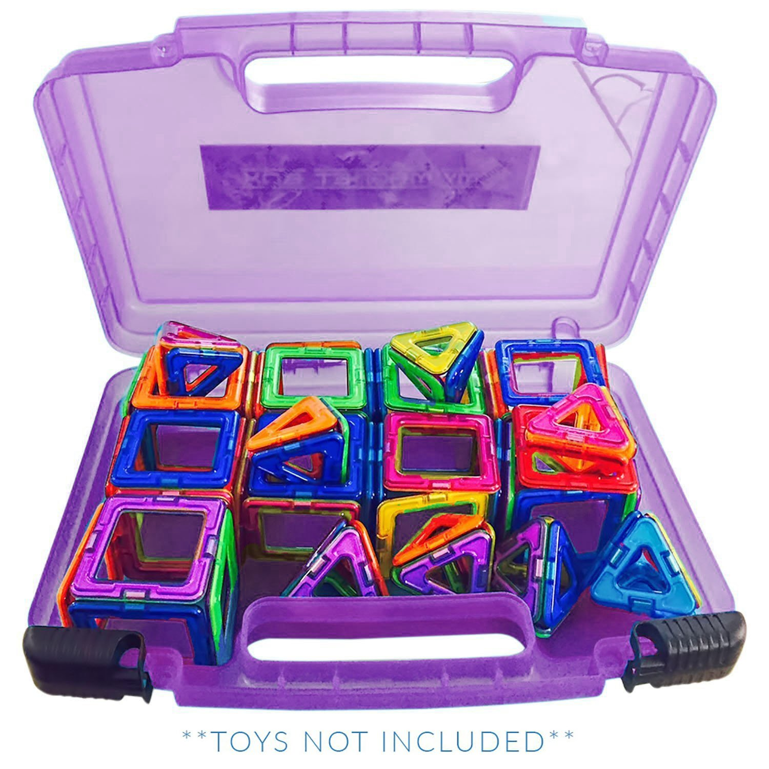 Life Made Better Carrying Organizer Case, Compatible with Magformers and Magna Tiles, This Case is not Created by Magnaformers or Magna Tiles