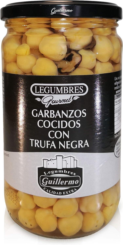 Guillermo Garbanzos Cocidos con Trufa Negra Gourmet Calidad ...