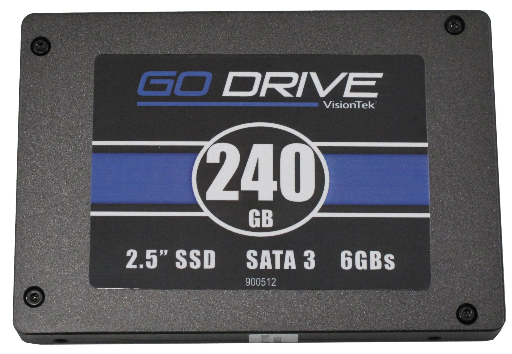 VisionTek 240GB 9.5mm SATA III  Internal 2.5-Inch Solid State Drive - 900512