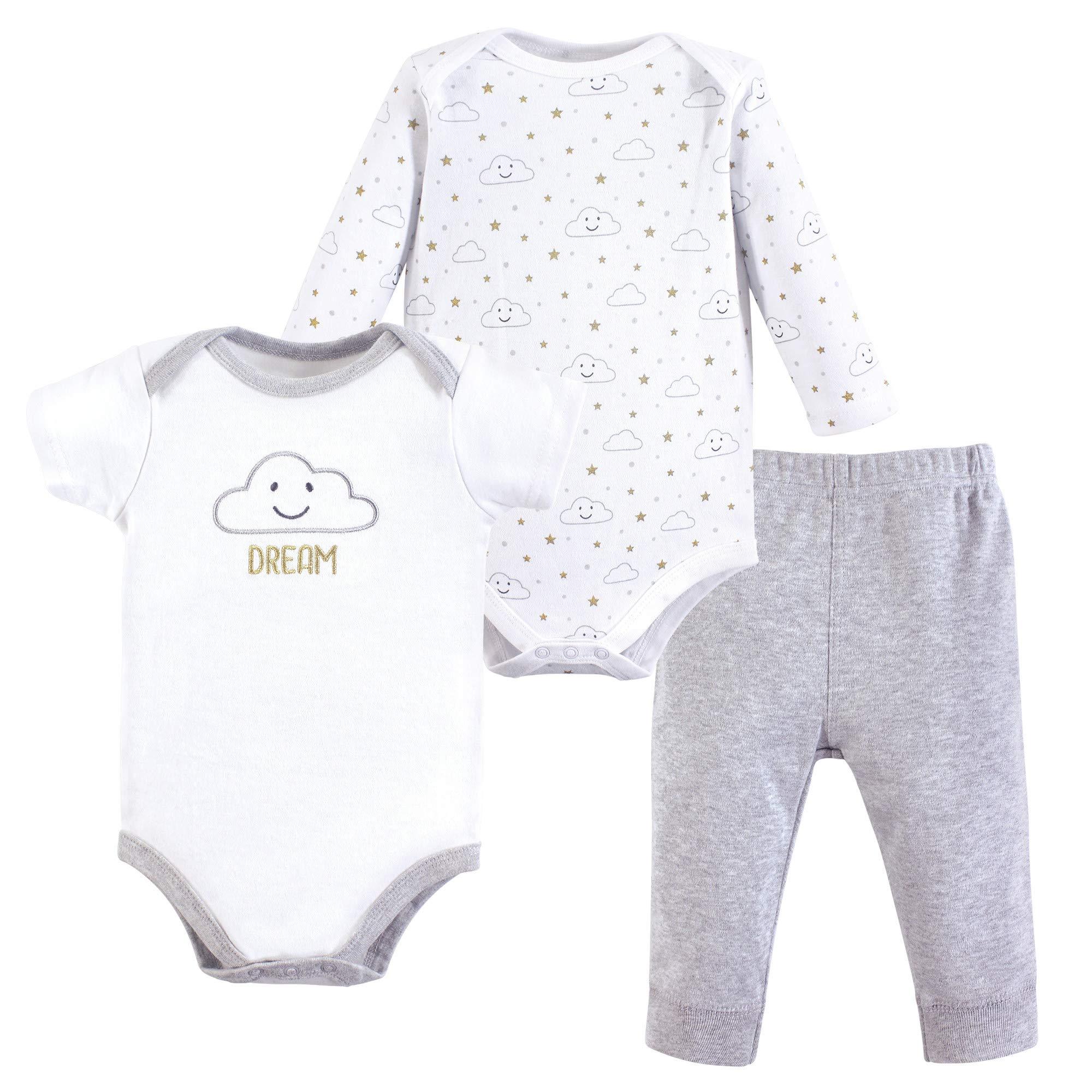 Hudson Baby Baby Girls' Bodysuit and Pant Set