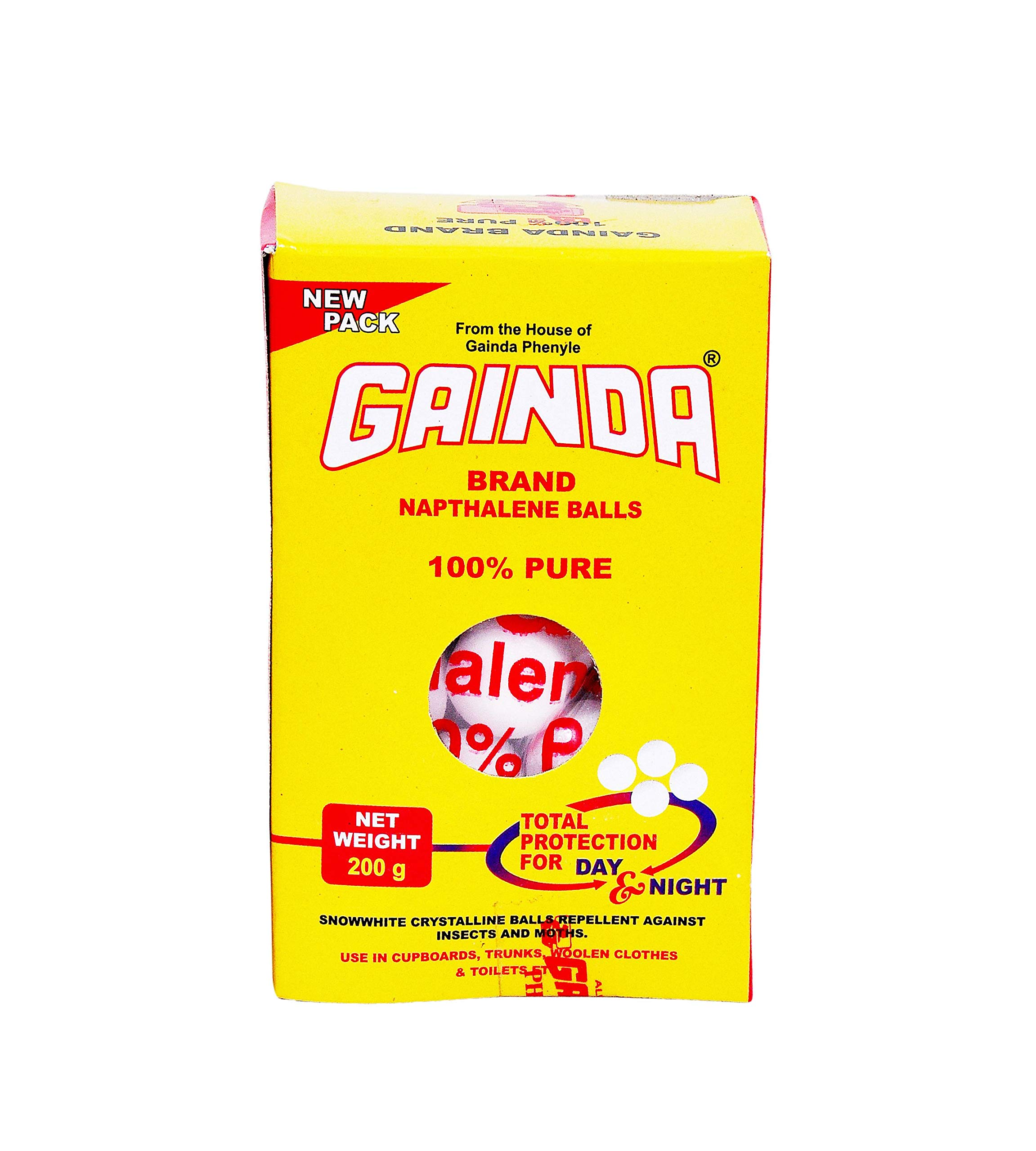 Gainda Brand Napthalene Balls (200gm) (B0819XR7KG) Amazon Price History, Amazon Price Tracker