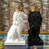 Artgenius 7.3IN Royal King Crown Lion Statue