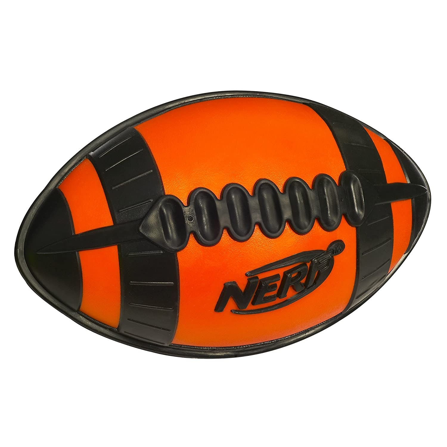 Amazon Nerf N Sport Weather Blitz Youth All Conditions Football Orange Toys & Games