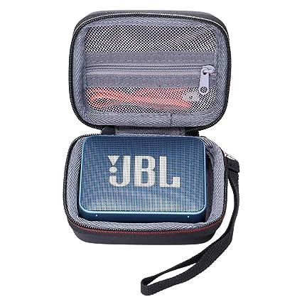 Cuigu port/átil EVA Zipper/ /Caja de almacenaje para Bolsa r/ígida para Altavoz Bluetooth JBL Go 1//2