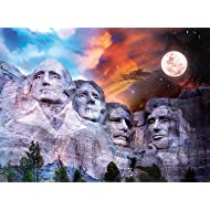 Buffalo Games - Night & Day Collection - Mount Rushmore - 1000 Piece Jigsaw Puzzle
