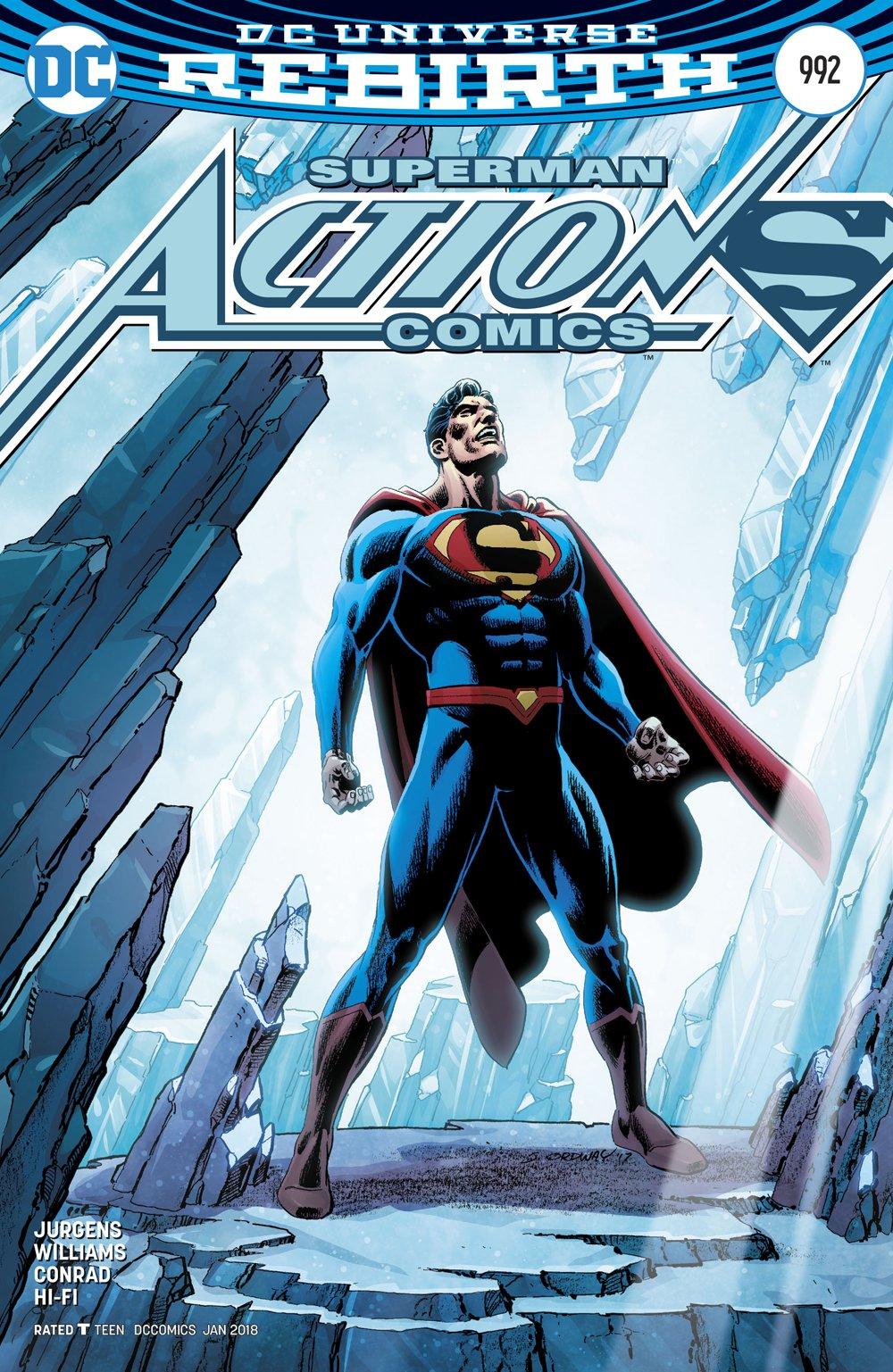 ACTION COMICS #992 ((DC REBIRTH)) ((Variant Cover)) - DC