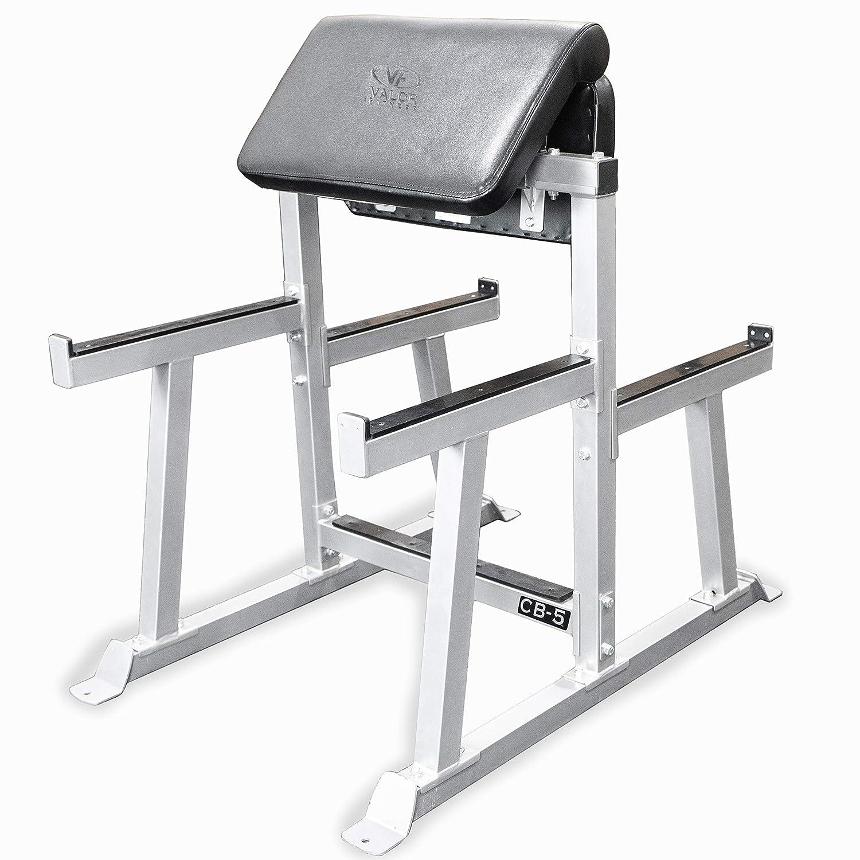 Valor Fitness CB-5 Arm Curl Preacher Curl Station