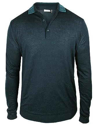 Versace Collection - Polo para Hombre (Seda, extrafino), diseño de ...