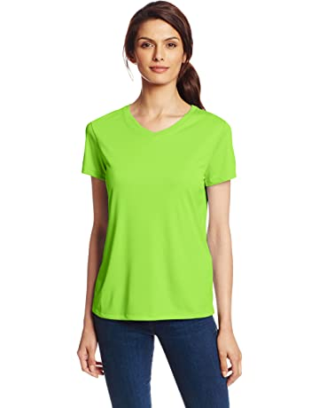 5576784d3714 Hanes Sport Women's Cool DRI Performance V-Neck Tee
