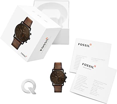 Amazon.com: Fossil Q FTW1149 Mens Commuter Smartwatch: Watches