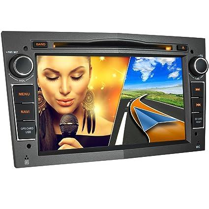 XOMAX XM-01L Radio de Coche Adecuado para Opel con navegación GPS I Manos Libres