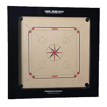 Synco Player Series - Bull Dog Genius 24MM Carrom Board