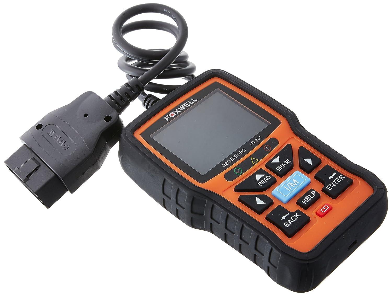 Foxwell OBD2 Auto Coche Herramienta de Análisis de Diagnóstico Motor Lector de Código Diagnosis Escáner, Orange: Amazon.es: Coche y moto