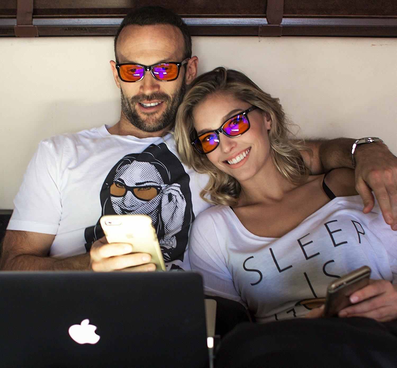 Amazon: Blue Light Blocking Glasses  Fda Registered Gamer Glasses And Puter Eyewear For Deep Sleep  Digital Eye Strain Prevention  (regular)
