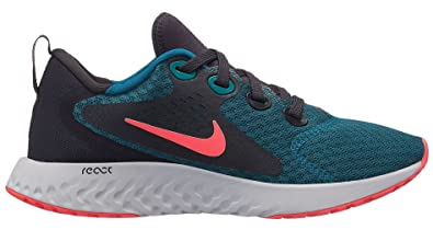 promo code 53a20 077ed Nike Legend React (GS), Sneakers Basses Homme, Multicolore (Geode Teal