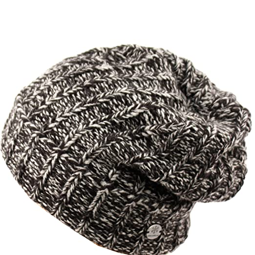 09ebf414330348 ANGELA & WILLIAM Short Slouchy Beanie Unisex Mix Knit Skully Hat Ski Cap in  5 Colors