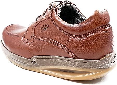 Zapatos Hombre con Cordones FLUCHOS - Piel Libano Suela Balancín - 7414 - Barco