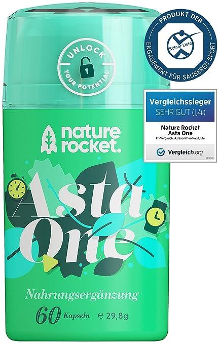 Suplemento antioxidante natural - Astaxantina (4 mg) - Extracto de microalga (88 mg