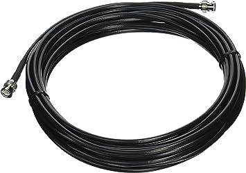 Male to BNC Male Plug 50 OHM Antenna Ham Radio Cable PL259 R-UB025 CablesOnline 25ft RG8x Coax UHF