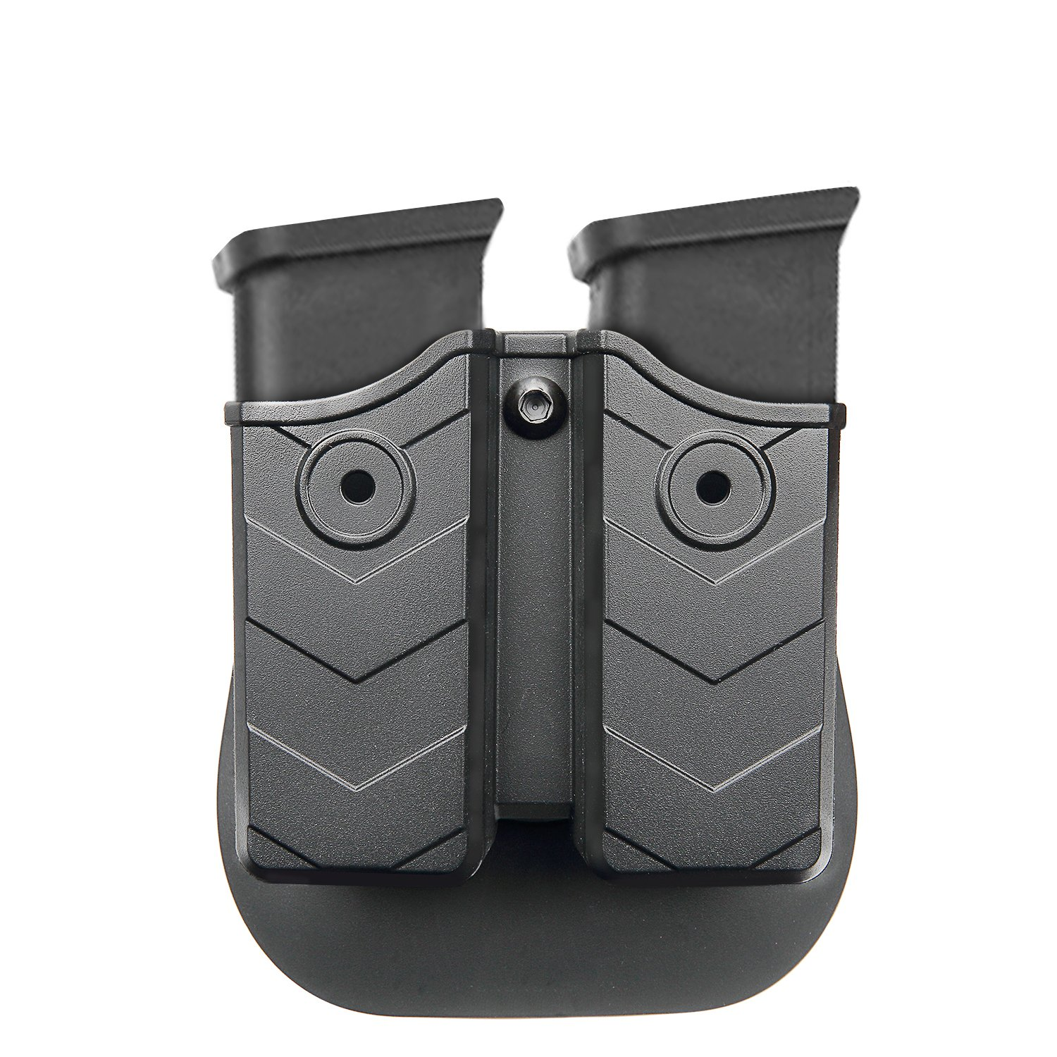 Efluky Double Magazine Pouch 9mm 40 Cal Taurus Millennium Schematics Holster Stack Holder With Paddle For Glock Hk Sw Ruger Sig