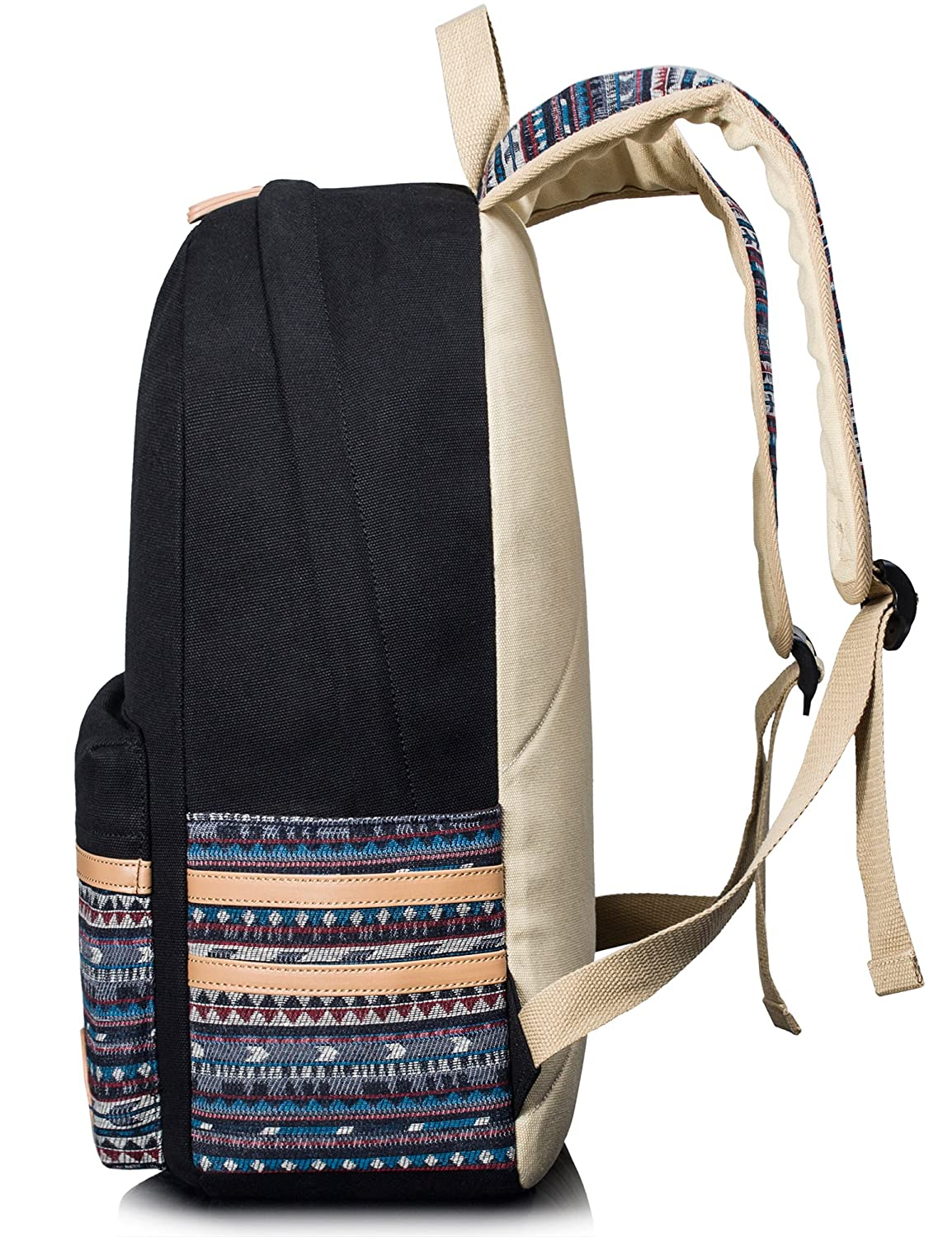 Leaper casual style lightweight canvas laptop bagcute backpacks leaper casual style lightweight canvas laptop bagcute backpacks shoulder bag school backpack travel bag navy blue amazon bags wallets luggage fandeluxe Image collections