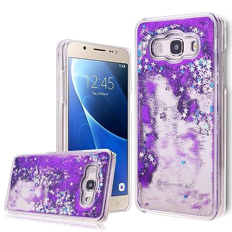 brand new 9f271 44f82 Buy WeLoveCase Galaxy J5 2016 Liquid Case, Samsung J5 2016 Glitter ...