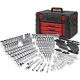 WORKPRO 450-Piece Mechanics Tool Set, Universal Professional Tool Kit with Heavy Duty Case Box