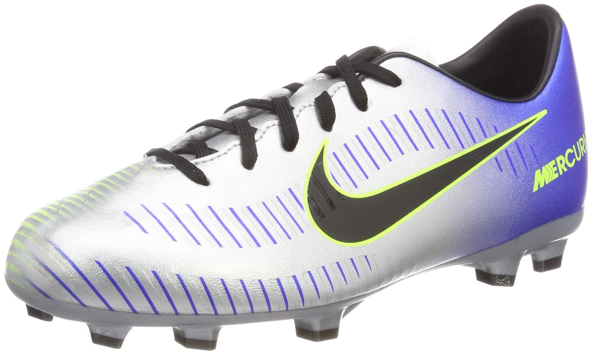 Nike Neymar JR Mercurial Victory VI Youth FG Soccer Cleats- Racer Blue Size: 4Y