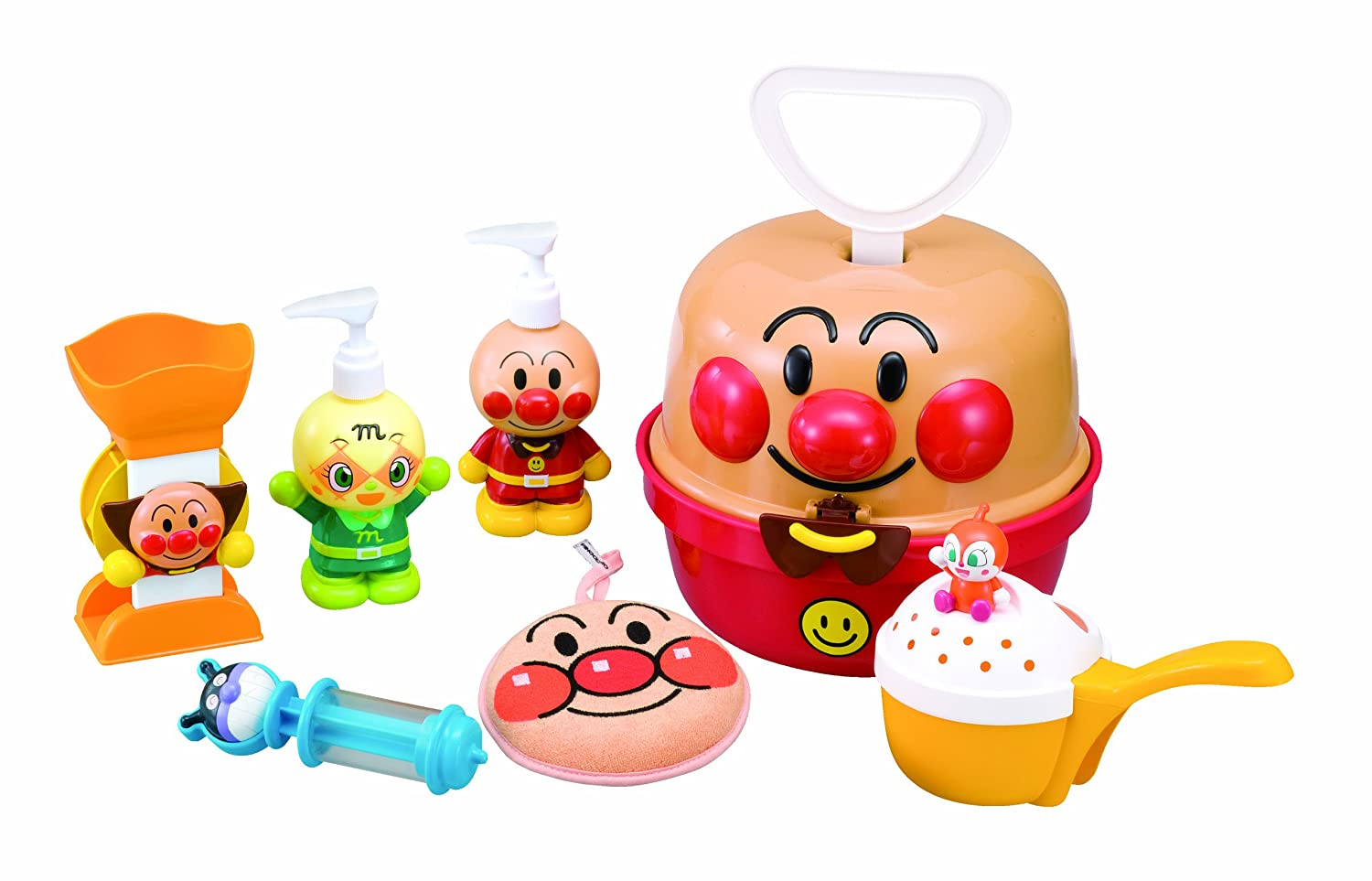 Anpanman Joyful Bath Set