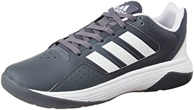 c57b3c94c69 adidas neo Men's Cloudfoam Ilation Leather Sneakers