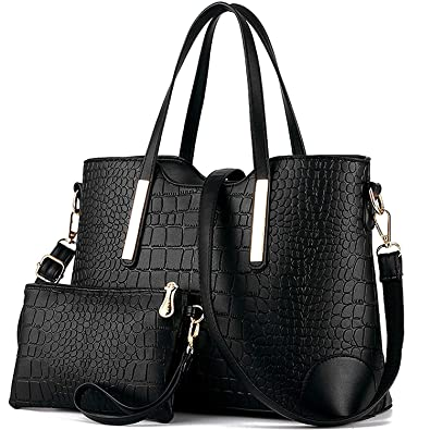 YNIQUE Satchel Purses and Handbags for Women Shoulder Tote Bags Wallets   Handbags  Amazon.com 5aa42247f9d88